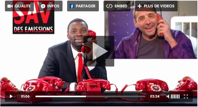 SAV du 3 novembre 2011 sur Canal+