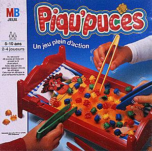 Le jeu de société Piqu'puces : attrapez les punaises de lit !