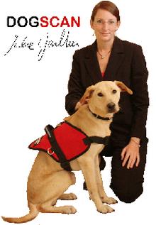 Julie et Rocky de Dogscan, société de détection canine des punaises de lit x220