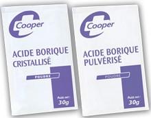 Sachet d'acide borique x220